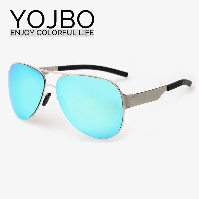 YOJBO Para Mujer gafas de Sol de Diseñador de la Marca Gafas de Espejo de  Aleación 81a5b55bbde2