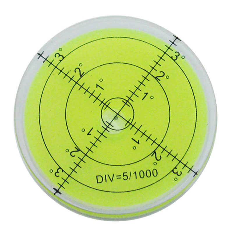 60 12 mm Bubble Degree Marked Surface Leveling for Camera Ttripod Furniture Toy Level font b