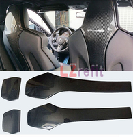Real Carbon Fiber Seat Back Backseat Trim Covers 4 PC/Set For BMW F80 M3 F82 M4 2014UP