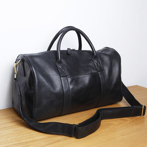 Image 4 - Lanspace Mannen Leathe Reistas Mode Lederen Bagage Mode Grote Size Handtas