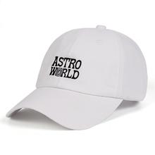 Travi Scott ASTROWORLD Dad Hat latest album 100 Cotton Snapback Hat embroidery Astroworld Baseball Caps Unisex