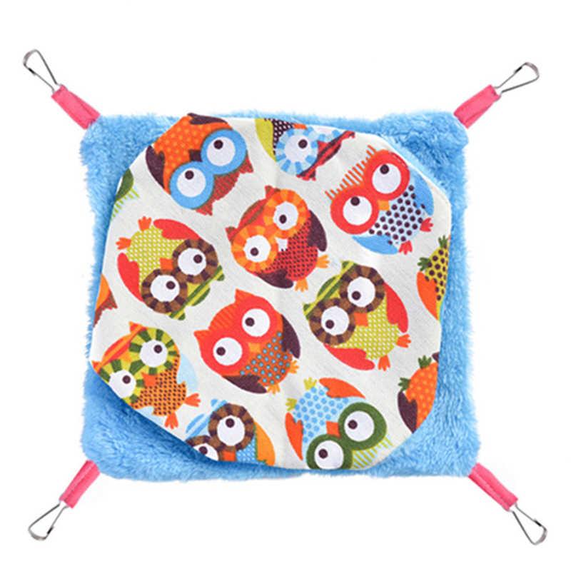 Клетка для птиц, висячая кровать, хомяк, двухъярусный гамак для игрушек, уютная хижина, палатка, кровать, модное Птичье гнездо, птица, попугай, мелкие принадлежности для домашних животных