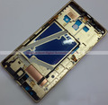 Золотой Цвет Передний Корпус Передняя Рамка Рамка Лицевой Панели Крышки Для Nokia Lumia 930 Запасные Части Бесплатная Доставка