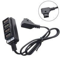 Высокоэффективная электронная зарядка с четырьмя портами практичная камера для фотосъемки D-Tap B Тип Прочный домашний силовой кабель просто...