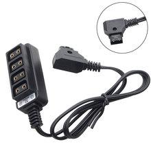 Haute efficacité charge électronique quatre Ports pratique caméra photographie d tap B Type Durable maison câbles dalimentation utilisation facile