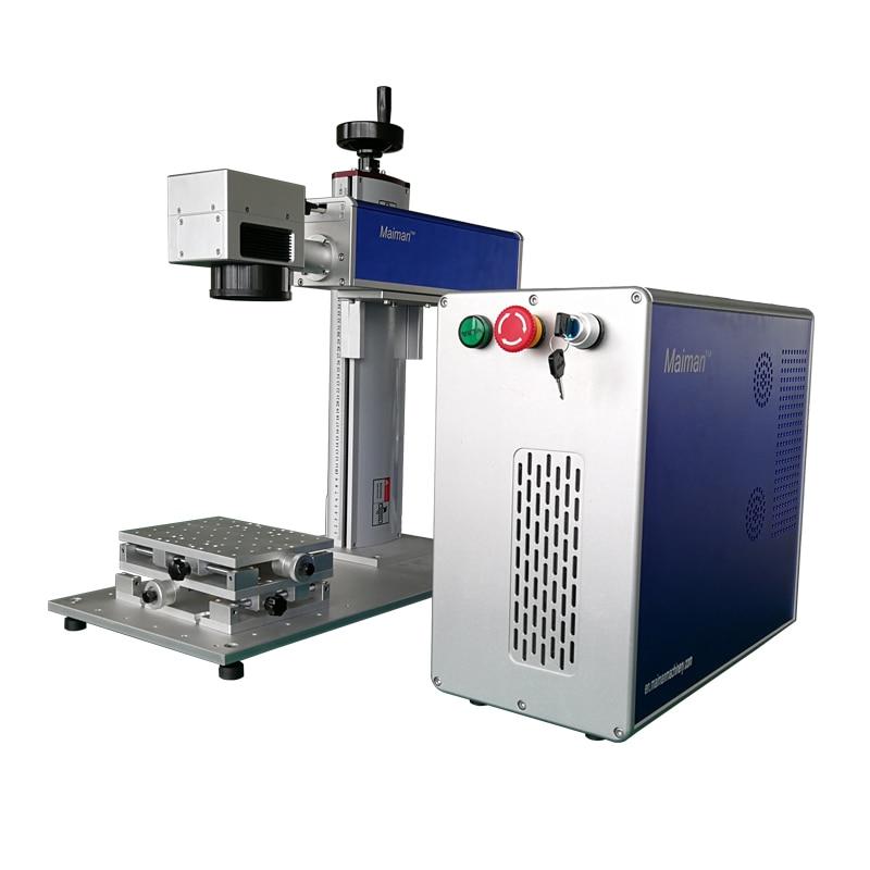 Фабрика ЧПУ волоконный лазерный гравер 10 Вт металлическая лазерная гравировка