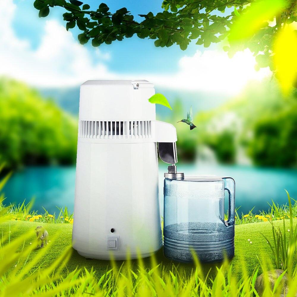 Best 4L Pure Distilled Water Filter Machine Dentistry Water Distiller Distillation Purifier Equipment Stainless Steel Housing
