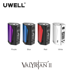 Image 5 - UWELL Valyrian II Mod Triple 18650 batteries 300W Electronic Cigarette Vape Mod without battery