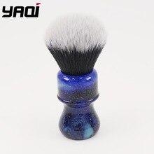 Yaqi brosse à raser pour hommes, poignée en couleur, nœud smoking, 26MM
