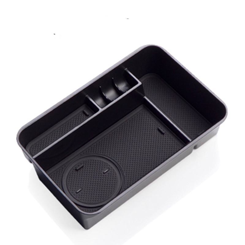 Non Slip Mat In Central Armrest Container Holder Stowing Box For Nissan Patrol Y62 2010 2011 2012 2013 2014 2015 2016 2017 2018 in Stowing Tidying from Automobiles Motorcycles