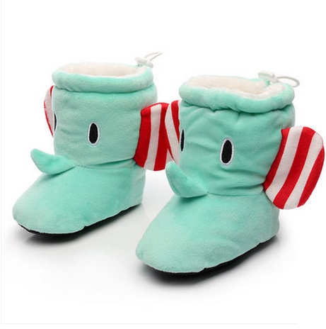 0 - 6 - 12 months old toddler shoes autumn high and infants male 1 winter baby shoes soft outsole cotton-padded shoes