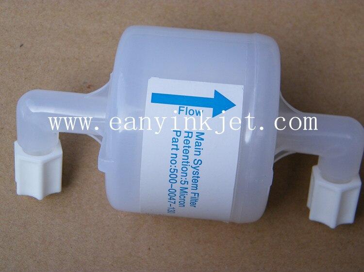 Willett main filter 500 0047 130 for Videojet Willett 430 43s 46p printer