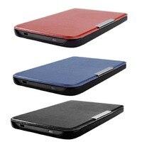 Pocketbook basic lux 2 touch lux 4 hd 3 스마트 커버 케이스  pocketbook 616/627/632 자동 수면 용 울트라 슬림 플립 가죽 케이스