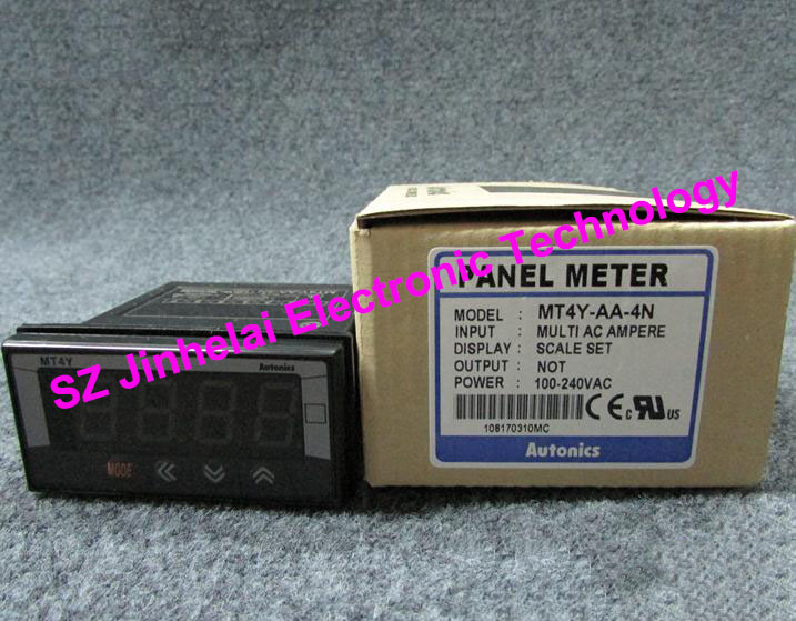 100% Authentic original MT4Y-AA-4N Autonics PANEL METER sanyo 4n 600aac 4 8v 600mah original