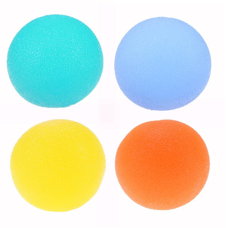 Hands Expander Silicone Egg Massage Hand Expander Gripper Strengths Stress Relief Ball Forearm Finger Exercise Equipment 4 Color