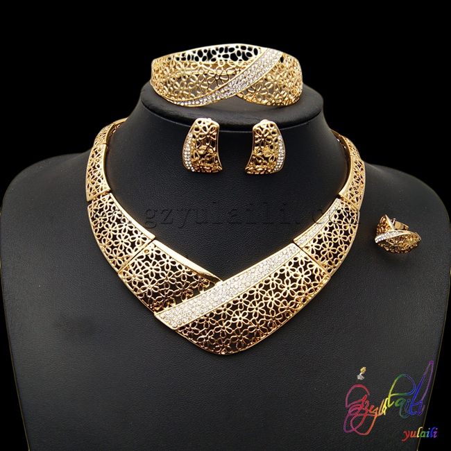 15bafb5400 SHIPPING FREE african gold plating jewelry set wholesale African costume jewelry  set bollywood jewelry sets-in Jewelry Sets from Jewelry & Accessories on ...
