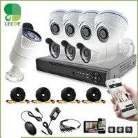 CCTV 8CH surveillance AHD 1080P DVR System video recorder security 2.0MP AHD camera +HDD Hard Disk Drive 3.5 CCTV 1TB