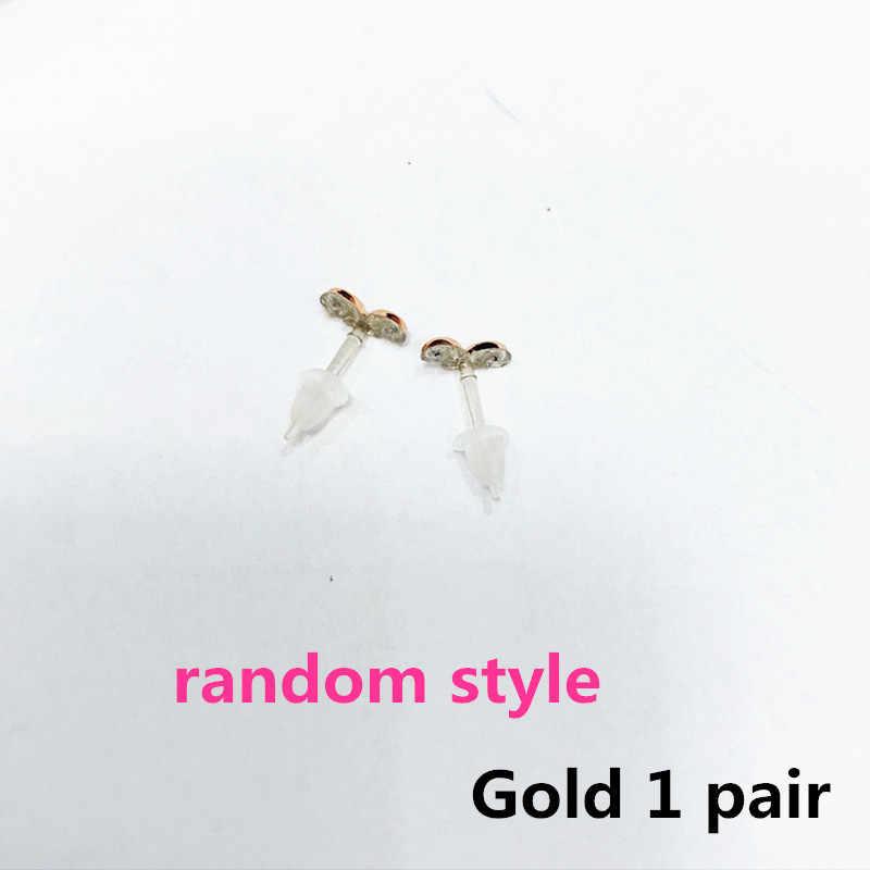 Милые маленькие пластиковые гипоаллергенные корейские серьги, геометрические женские серьги-гвоздики, золотые, минималистичные, Серебряные Обручи, модное сердце 2018