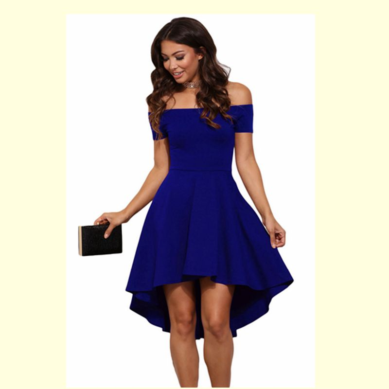 OUFAN Summer Womens Sexy Party Dresses Elegant Casual