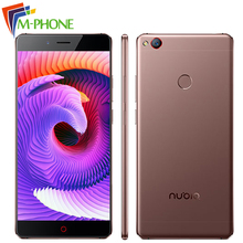 Original ZTE Nubia Z11 Borderless 6GB RAM 128GB ROM Mobile Phone 5.5″ Snapdragon 820 Quad Core 16MP Fingerprint NFC Smartphone