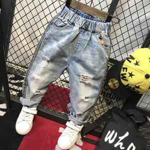 1188e2df0fcb preax 2018 Kids Trousers Baby Boys Denim Pants Cowboy Jean