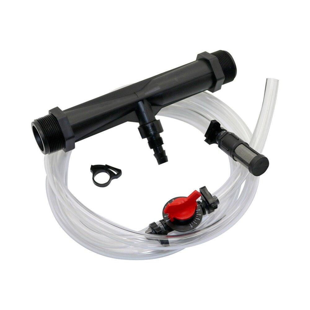 Garten 1,5 zoll Venturi Dünger Injektor kit Automatische Befruchtung System Landwirtschaft Bewässerung Venturi Injektor 1 Set