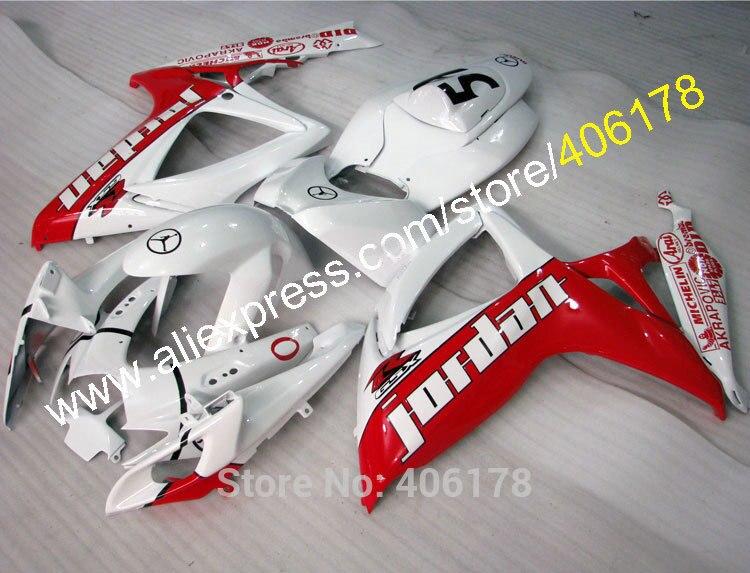 Hot Sales,For 2006 2007 SUZUKI GSXR 600 750 K6 GSXR600 GSXR750 06 07 R600 R750 Motorbike ABS Fairing Kit (Injection molding) hot sales for 2006 2007 suzuki k6 gsxr 600 gsxr 750 jordan 06 07 gsx r600 gsx r750 custom bodywork fairing injection molding