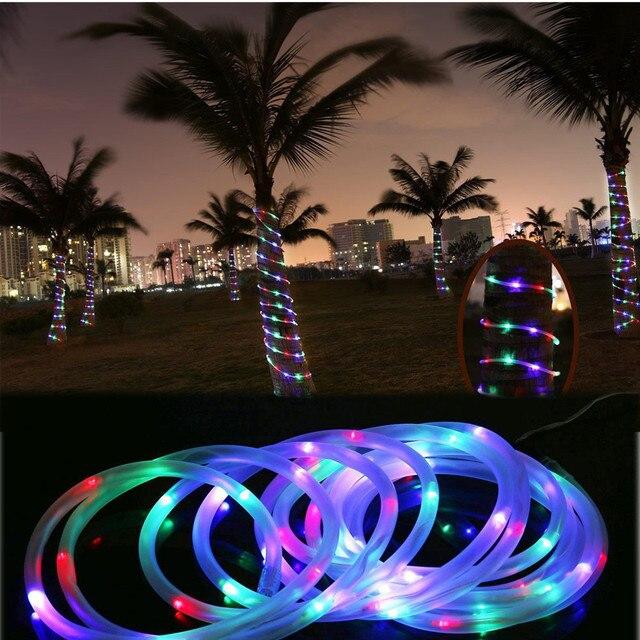 50 LED Wasserdichte Solar Drehbare Garten Im Freien Camping Led Lampe  Schlauch Lichter Umweltfreundliche Geringer