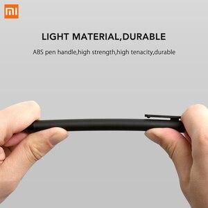 Image 4 - Xiaomi Lote de 10 unidades de bolígrafo KACO de 0,5mm, bolígrafo para firmar, tinta Gal, escritura suave, recarga negra, no pluma estilográfica