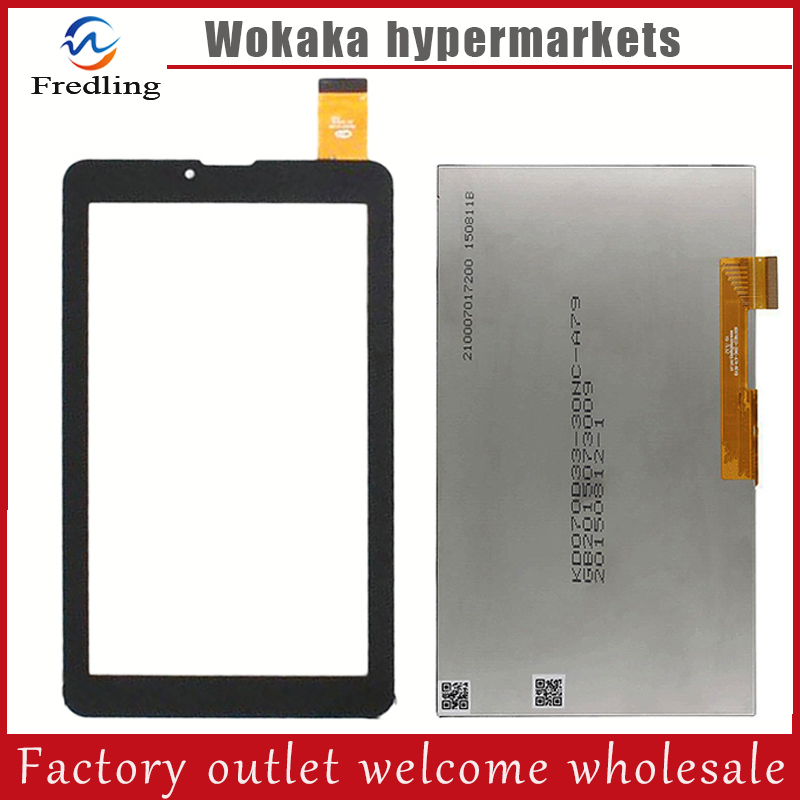 New 7'' inch lcd display Touch Screen Digitizer Panel For Prestigio MultiPad Wize 3038 3G PMT3038 3047 PMT3047 Tablet Sensor new 7   inch lcd display panel   touch