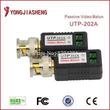 10pairs CCTV Video balun Twisted pair transmitter passive BNC balun free shipping