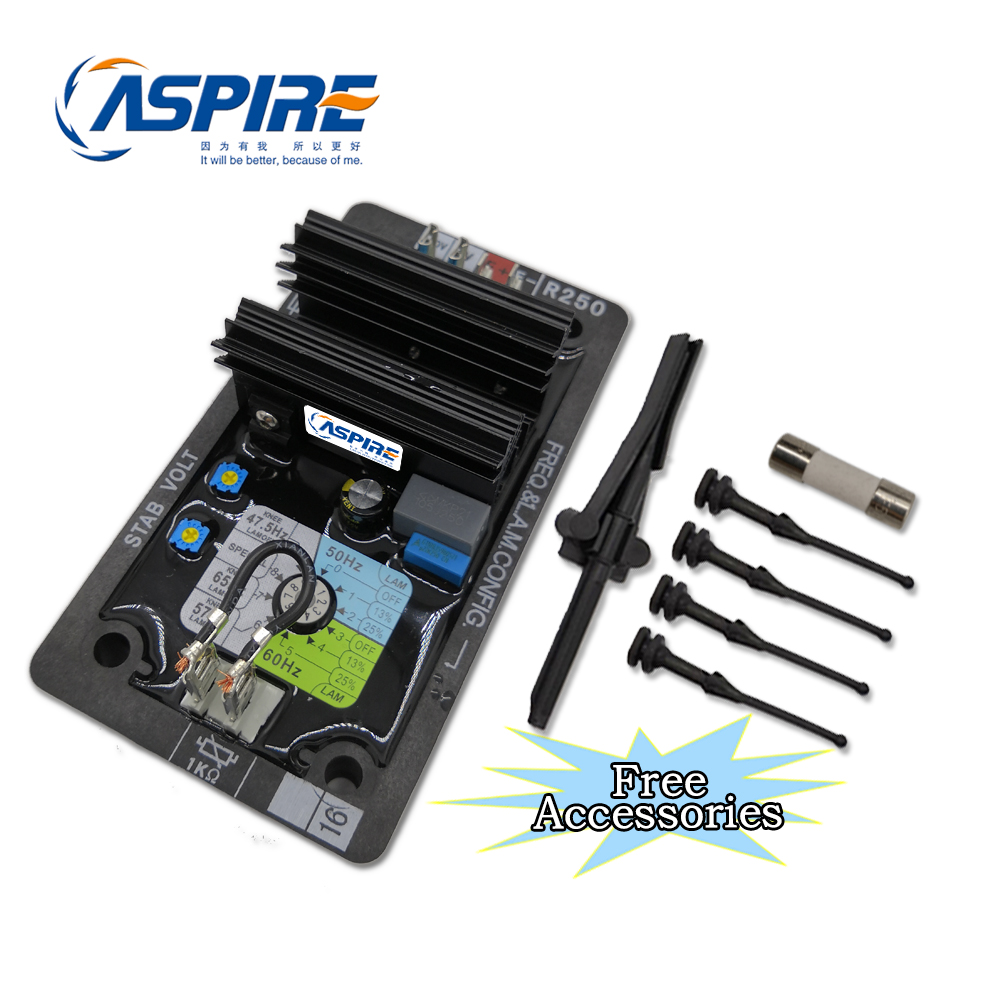 Brushless Type of Aspire AVR Synchronous Generator Spare Parts AVR R250 Circuit Diagram of Automatic Voltage RegulatorBrushless Type of Aspire AVR Synchronous Generator Spare Parts AVR R250 Circuit Diagram of Automatic Voltage Regulator