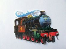 112*87mm Thomas Train Metal Cutting Dies Stencils for DIY Scrapbooking Embossing Valentine Decoration Card Crafts Die Cut 2019