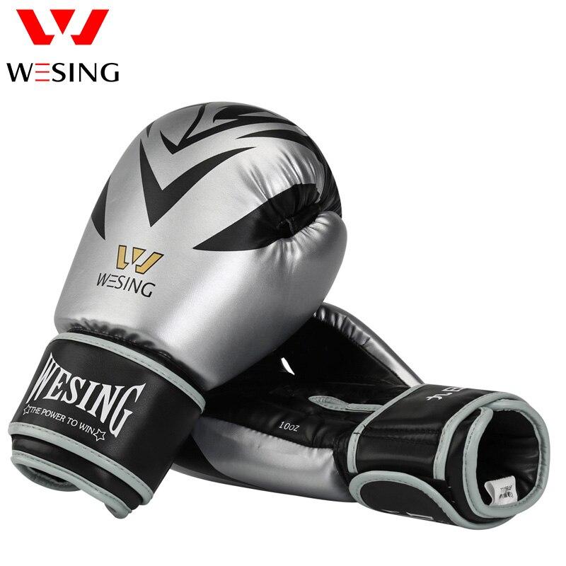 Gants De Boxe PU mousse adulte enfants Kick Boxing formation Boxe MMA gants Muay Thai Boxer Boxe De Luva mitaines gants 8-16 oz