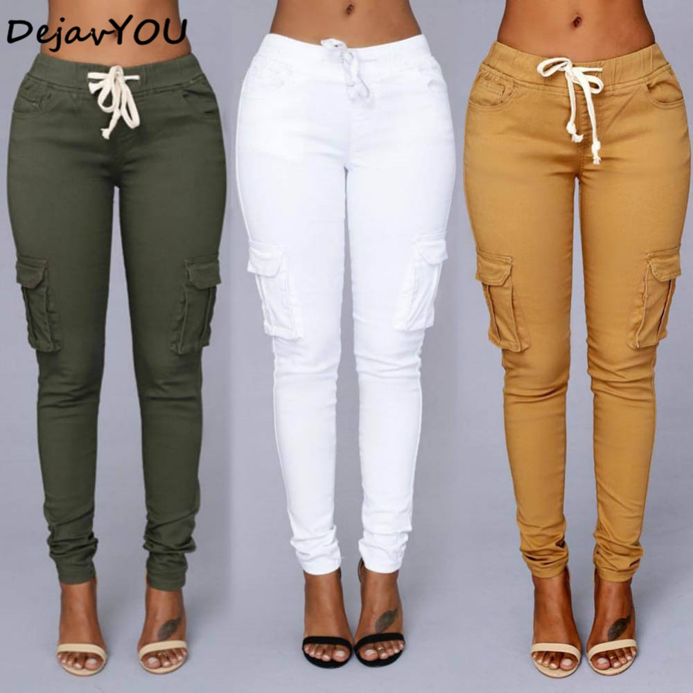 2018 Candy Colors Elastic Sexy Skinny Pencil Jeanss