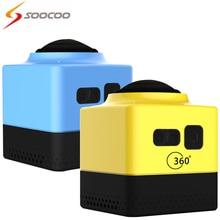 Soocoocube360ultrahdwifiกล้อง720pกระทำ360- องศาพาโนรามาvrdeportivaมินิกล้องวิดีโอกีฬากล้องกล้องหมวกกันน็อค