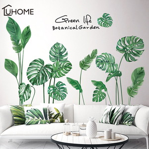 Tropical Leaves Wall Sticker D
