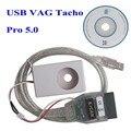 Leitor de Código de Venda quente V5.0 Vagtacho USB Versão V 5.0 VAG Tacho Para NEC MCU 24C32 ou 24C64 1 Pcs LR15
