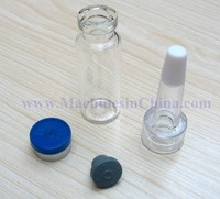 100pcs 4ml Glass Bottle With Cap