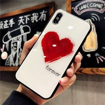 Love Heart iPhone Xs Case