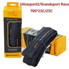 Continenta GrandSport Race UltraSport2 шоссейные велосипедные шины 700x23C 700 * 25C 28C 700C велосипедные складные шоссейные велосипедные шины bicicleta pneu