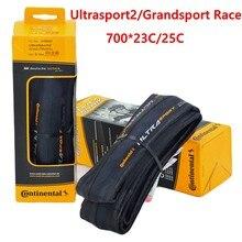 Continenta grandsport race ultrasport2 pneu de bicicleta de estrada, 700x23c 700 * 25c 28c 700c, ciclismo dobrável, bicicleta de estrada, pneu de bicicleta de estrada