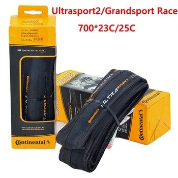 Neumático de bicicleta de carretera Continenta gransport Race UltraSport2 700x23C 700 * 25C 28C 700C bicicleta de carretera plegable bicicleta pneu
