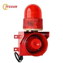 Купить с кэшбэком TGSG-01 audible and visual warning alarm 115dB one tone can customized your voice