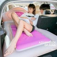 2019 wodoodporna gorąca sprzedaż samochodów materac dmuchany nadmuchiwany materac tylnym siedzeniu poduszki + 2 poduszki dla podróży Camping Auto Car Styling w Łóżka samochodowe od Samochody i motocykle na