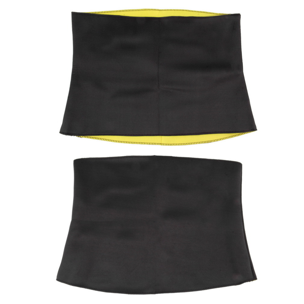 Women Neoprene Slimming Waist Belts Slim Belt Weight Loss Slimming Trainer Light Weight Portable Easy To Carry Body Face Lift 3