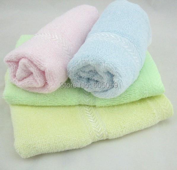 Antibacterial Pure Bamboo Fiber Face Towels For Children Bathroom 52 g 48*27 cm Uhugs Towels uhhn032
