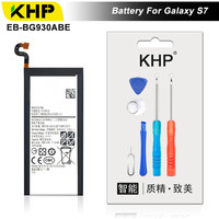KHP 2017 Original KHP Phone Battery For Samsung Galaxy S7 G930F G9300 G930 Battery EB BG930ABE