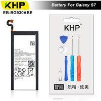 KHP 2018 Original KHP Phone Battery For Samsung Galaxy S7 G930F G9300 G930 Battery EB BG930ABE