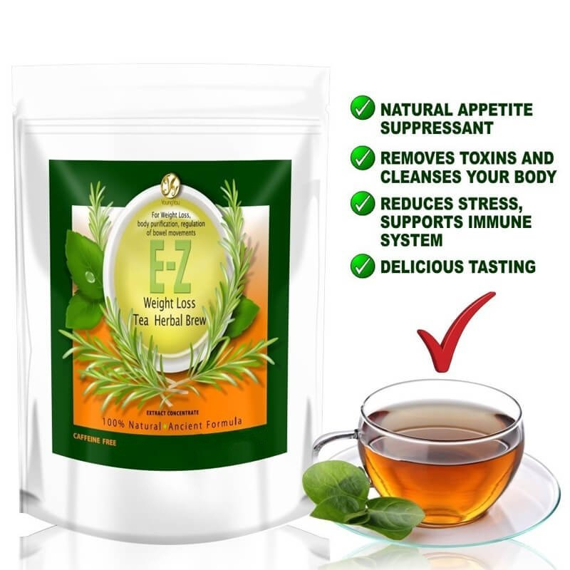 100 Pure Natural Detox Tea Bags For Weight Loss And Belly Fat Appetite Control Body Cleanse Keep Health